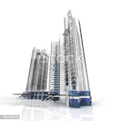 istock Highrise Isolated 167769100