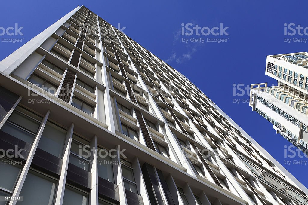 High-rise under blue sky royalty-free stock photo