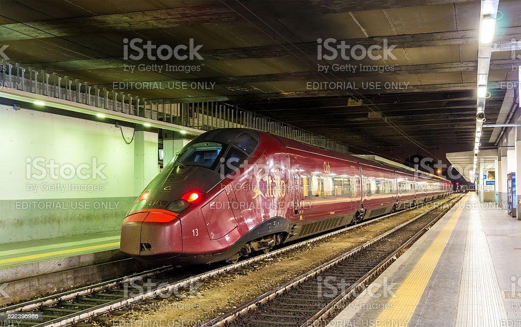 Alstom AGV High-speed-Bahn Bahnhof Porta Garibaldi in Mailand – Foto
