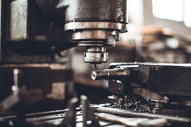 High-speed drill machine - foto de stock
