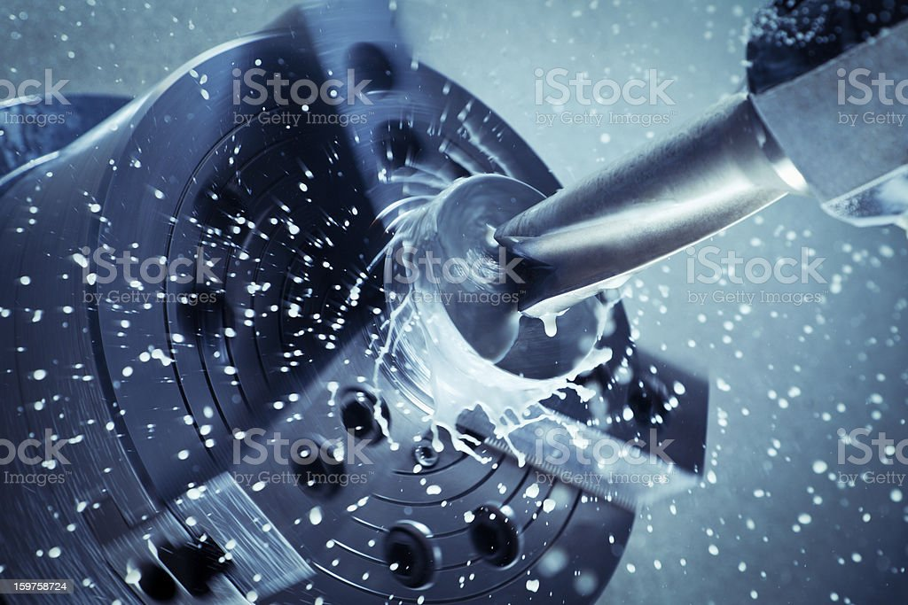 High-speed drill. stock photo
