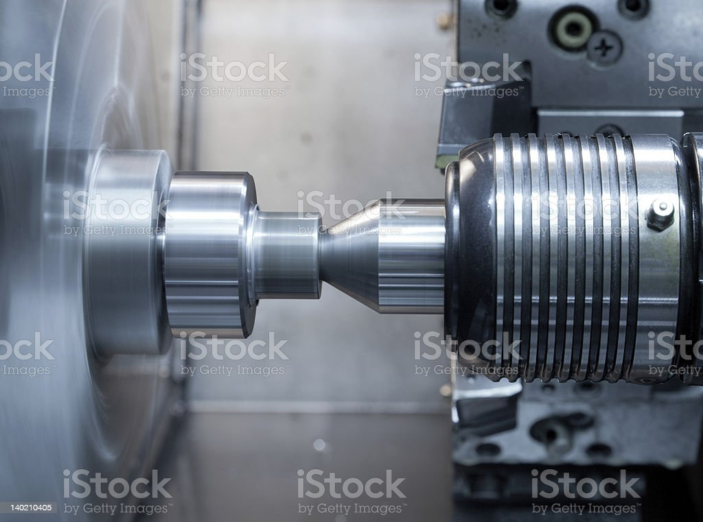 High-speed rotary thimble royalty-free stock photo