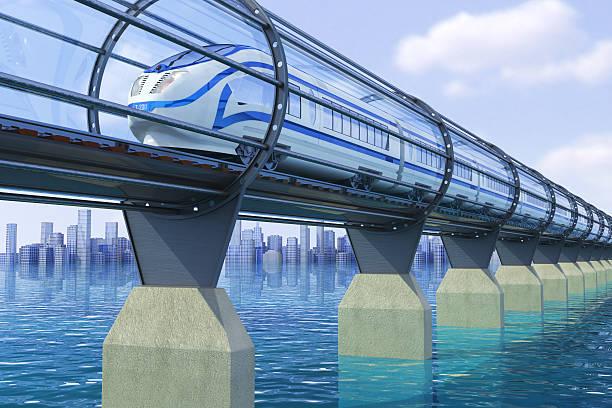 high speed train - hochgeschwindigkeitszug stock-fotos und bilder