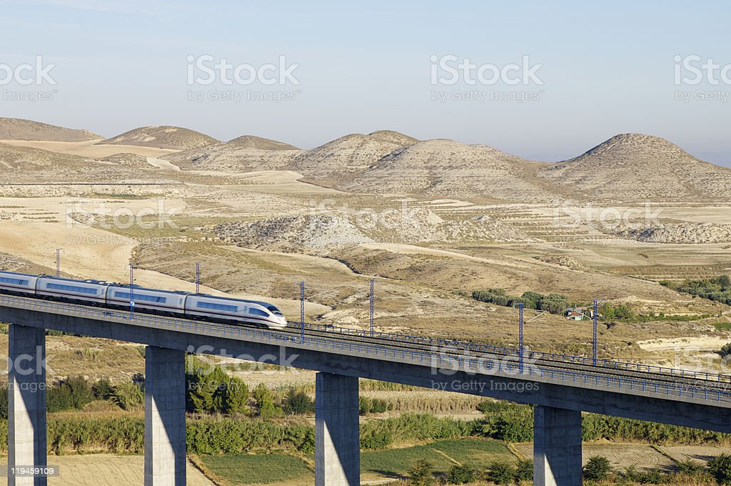 high-speed train - Royalty-free Architecture Stock Photo