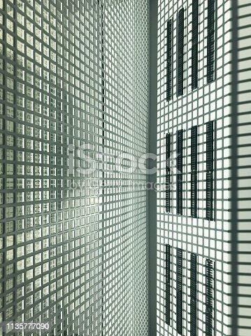 Close up, modern, high-tech texture