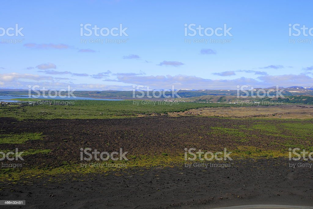 High-temperature area royalty-free stock photo