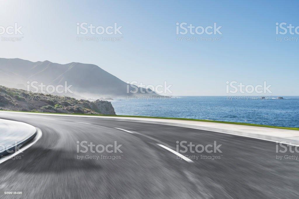 Highway 1 an der Küste, Kalifornien, usa – Foto