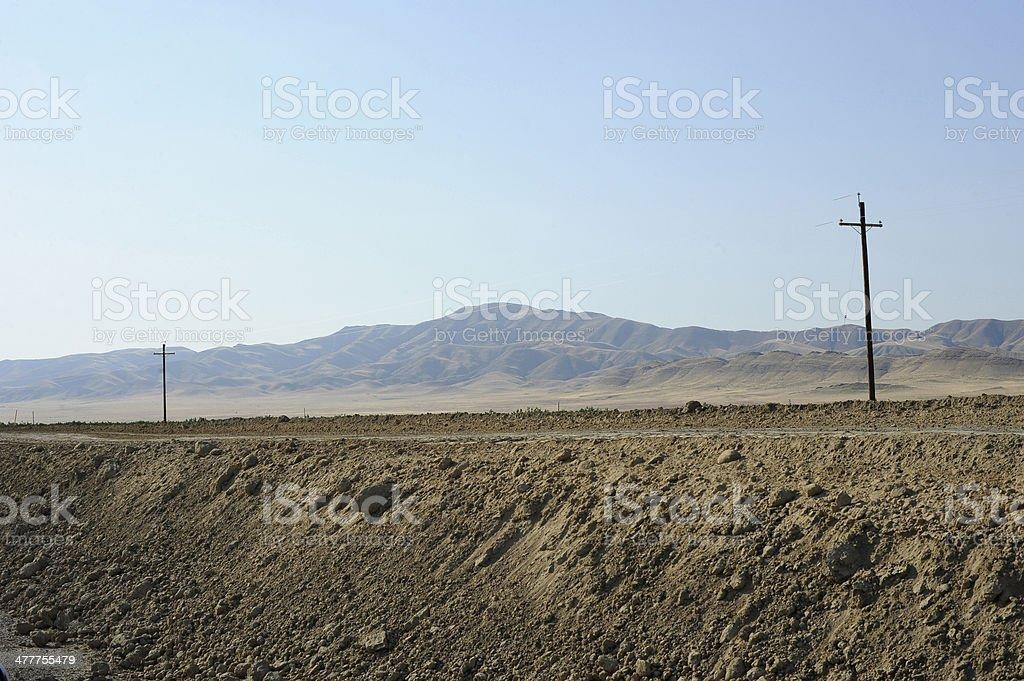 Highway 1 California stock photo