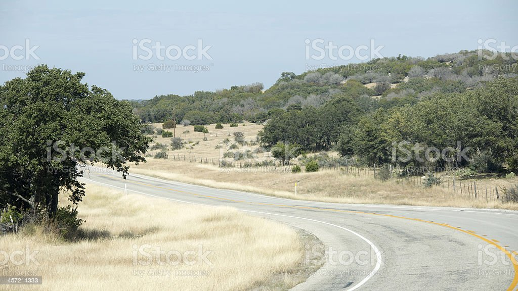 Highway 377 royalty-free stock photo