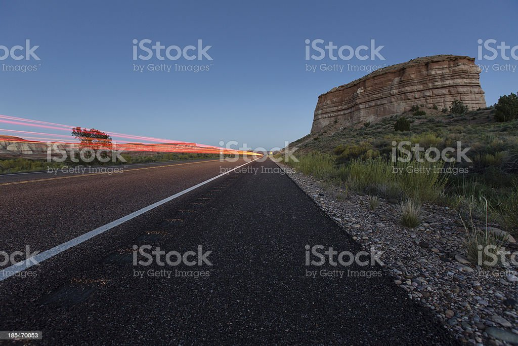 Highway 89 Utah royalty-free stock photo