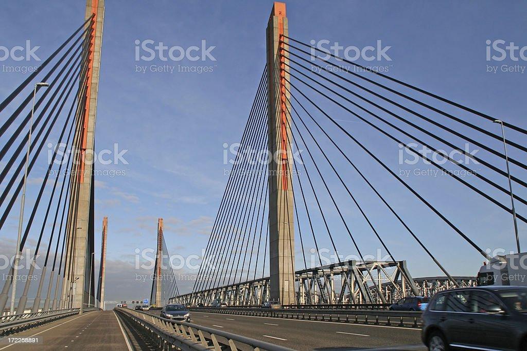 Highway bridge # 2 stock photo