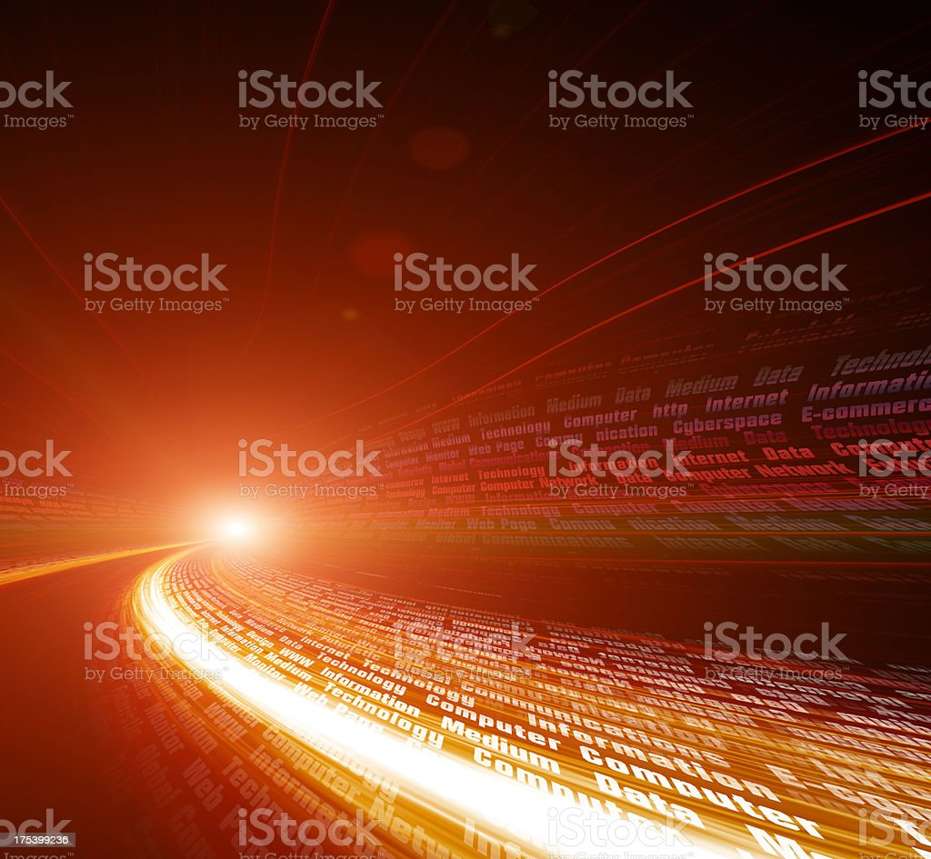 highway  Concepts royalty-free stock photo