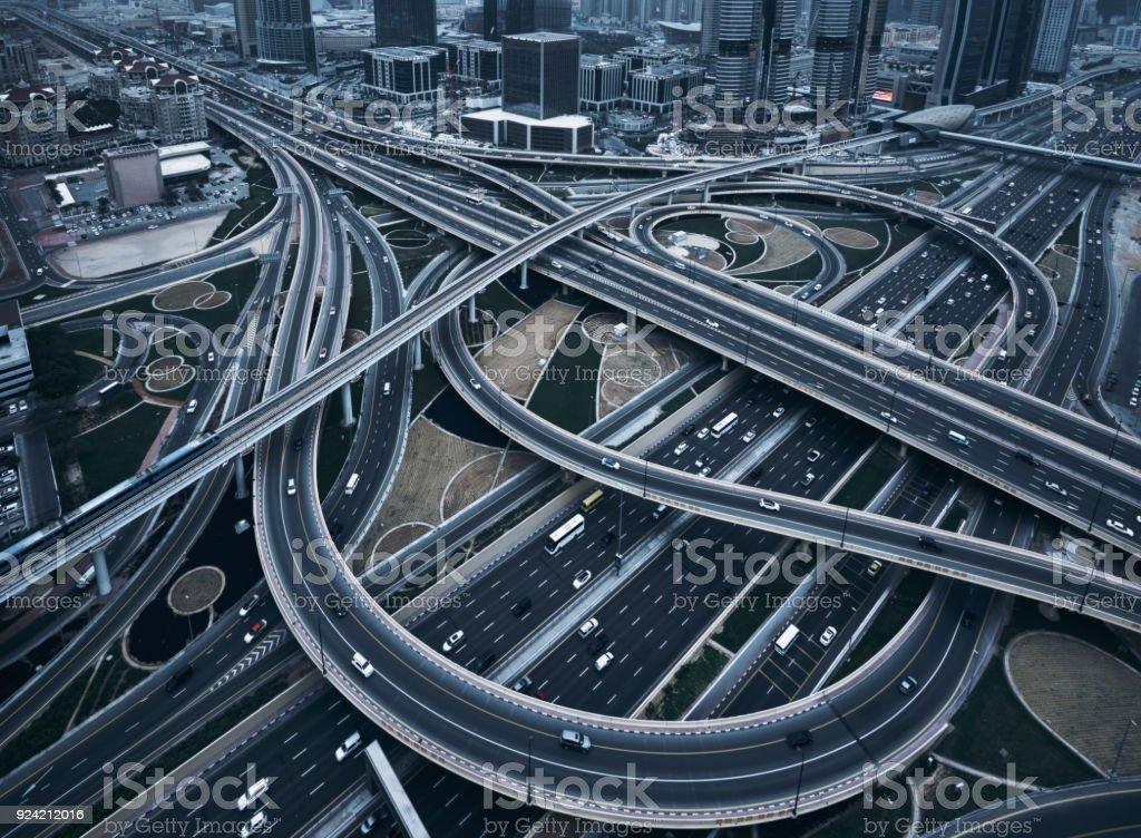 Highway crossroads – Foto