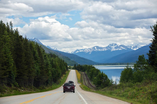 Highway Driving stock photo