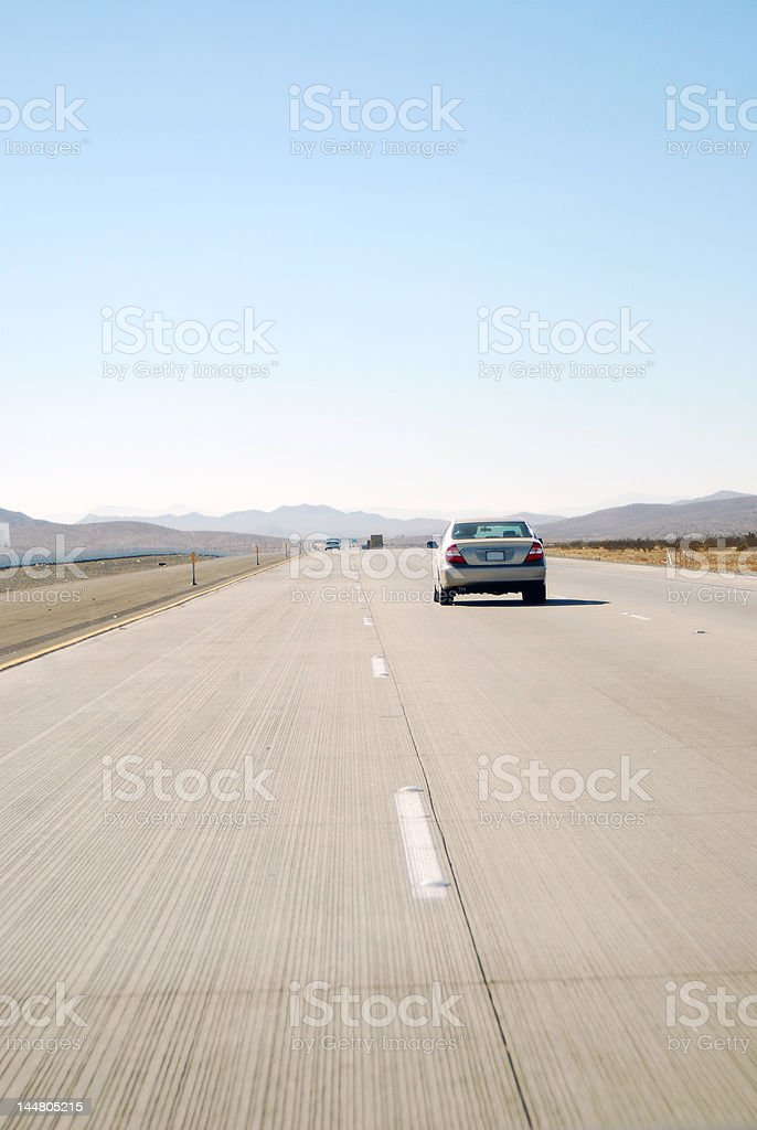 Highway Grooves royalty-free stock photo