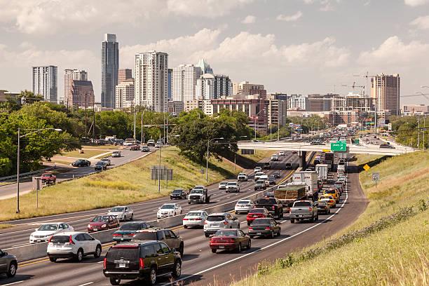 Autobahn in Austin, Texas – Foto