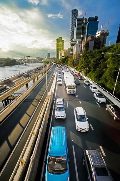 Highway in Brisbane Queensland Australia stock photo