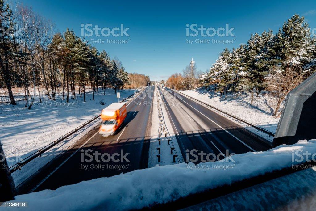 highway in Gdynia – zdjęcie