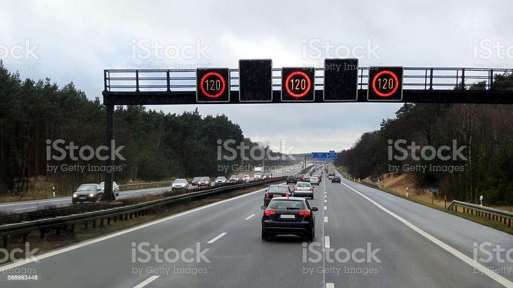 Autopista en Alemania - Foto de stock de Actividad libre de derechos