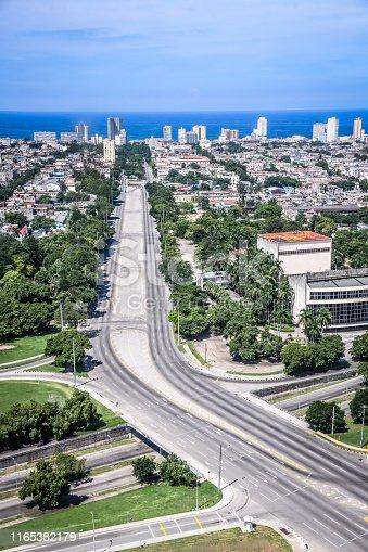 A Highway In Havana, Cuba