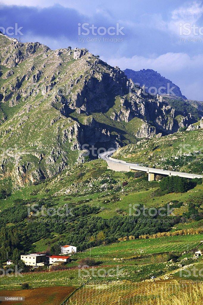 highway in Bergen – Foto