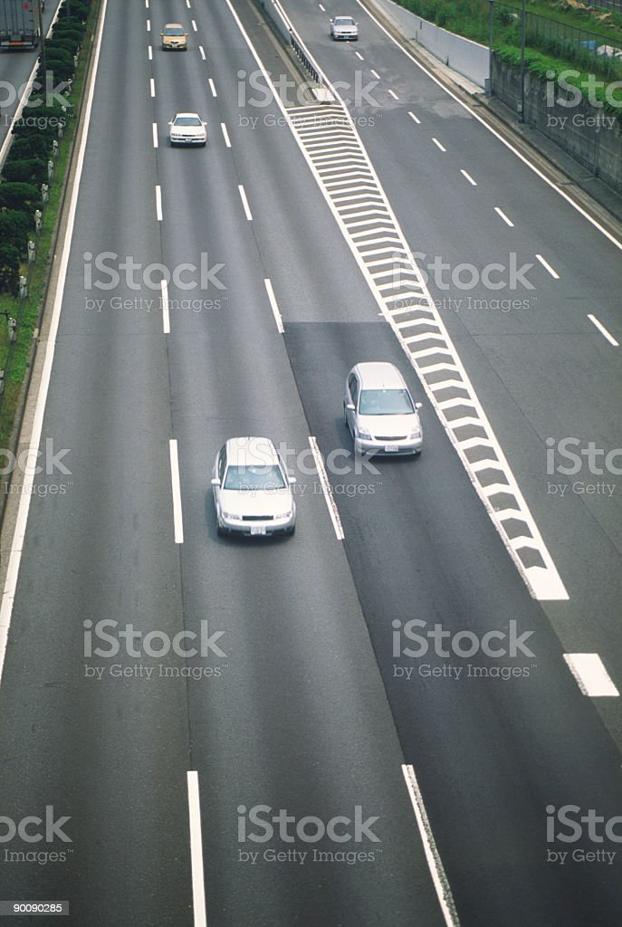 Highway junction royalty-free stock photo