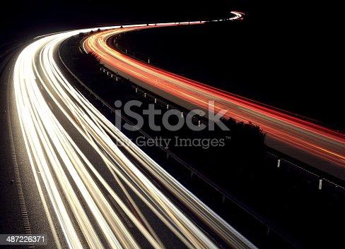 539234032 istock photo Highway lights 487226371