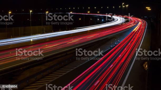 Photo of Highway long exposure.