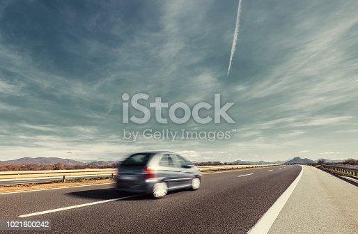 640042252 istock photo Highway motion 1021600242