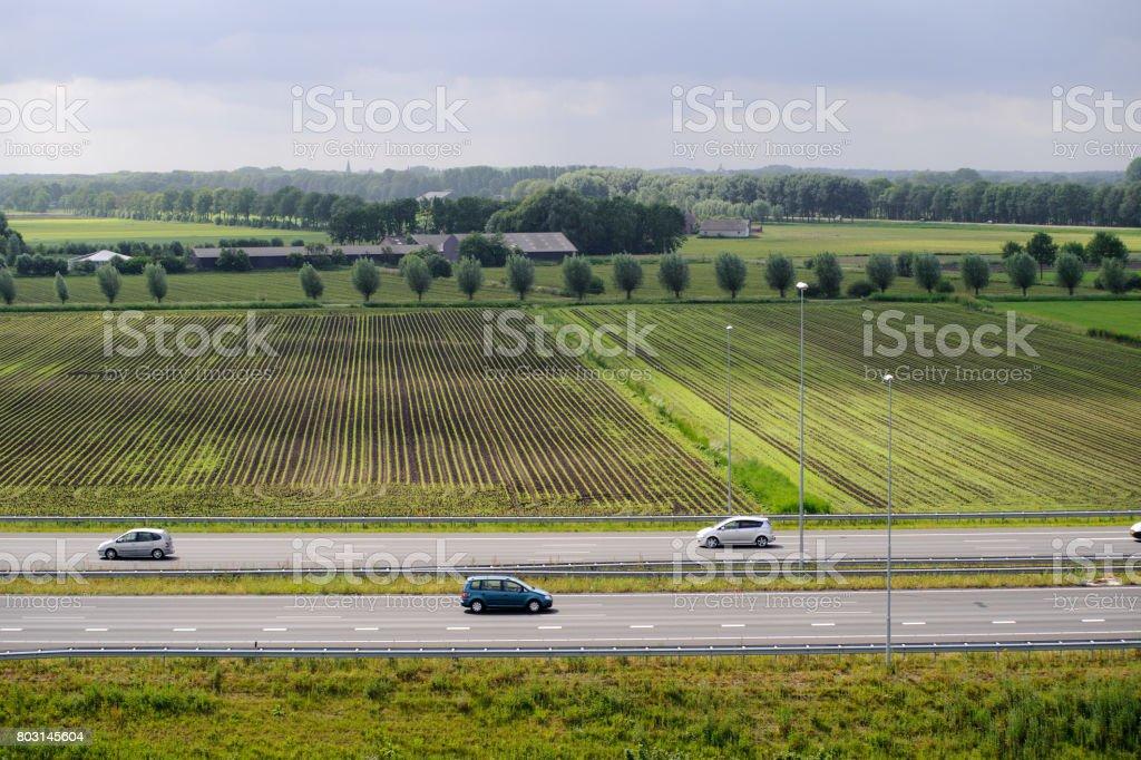 Autobahn in der Nähe von Den Bosch, NL – Foto