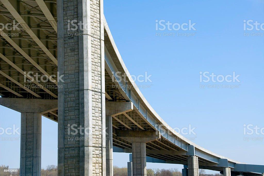 Шоссе Дорога верхнего уровня Architecture Стоковые фото Стоковая фотография