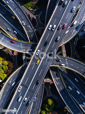 Shanghai Aerial highway junction