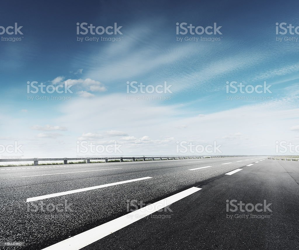 Highway stock photo
