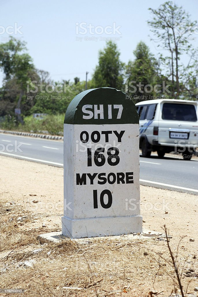 SH 17 Highway royalty-free stock photo