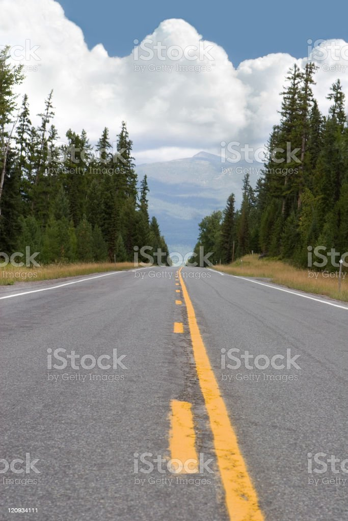 Highway Road royalty-free stock photo