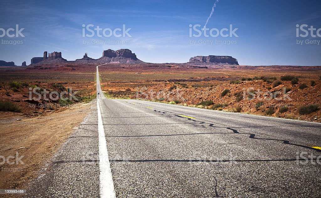Highway 163 to the Monument Valley