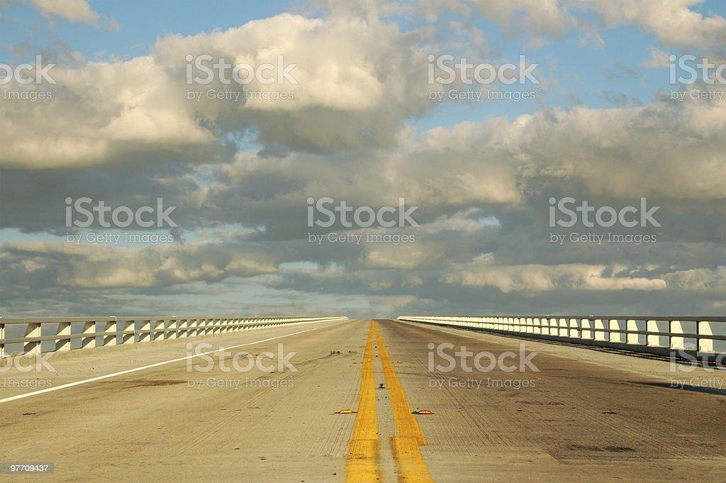 Highway to Heaven stock photo