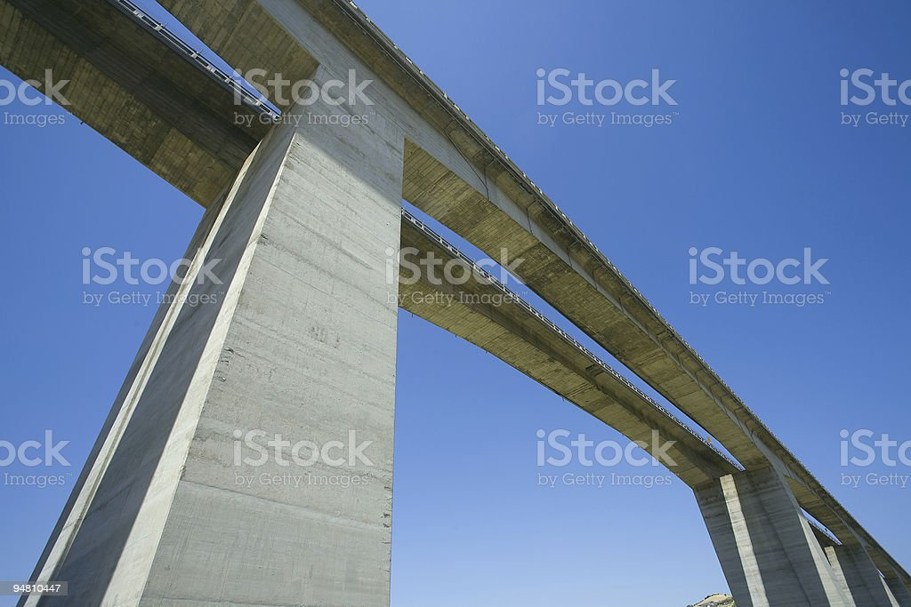 highway to the sky royalty-free stock photo