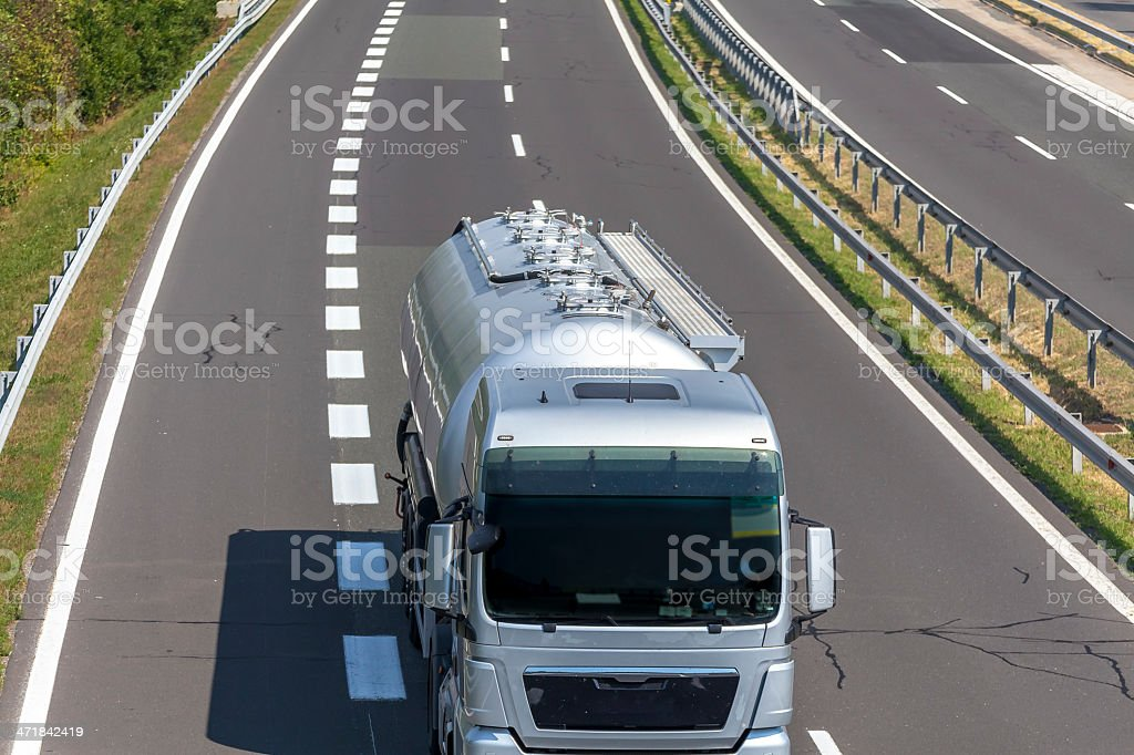 Highway Traffic I royalty-free stock photo