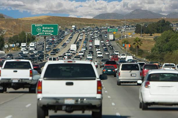 highway traffic (#43 of serise) stock photo