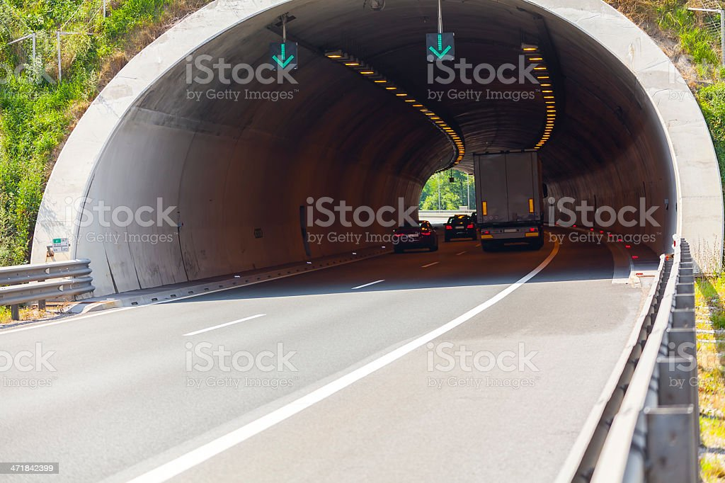 Highway Tunnel II royalty-free stock photo