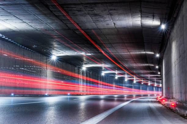 Karayolu tüneli stok fotoğrafı