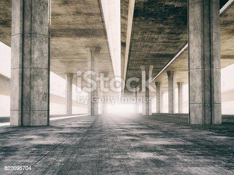 istock Highway underground background 822095704