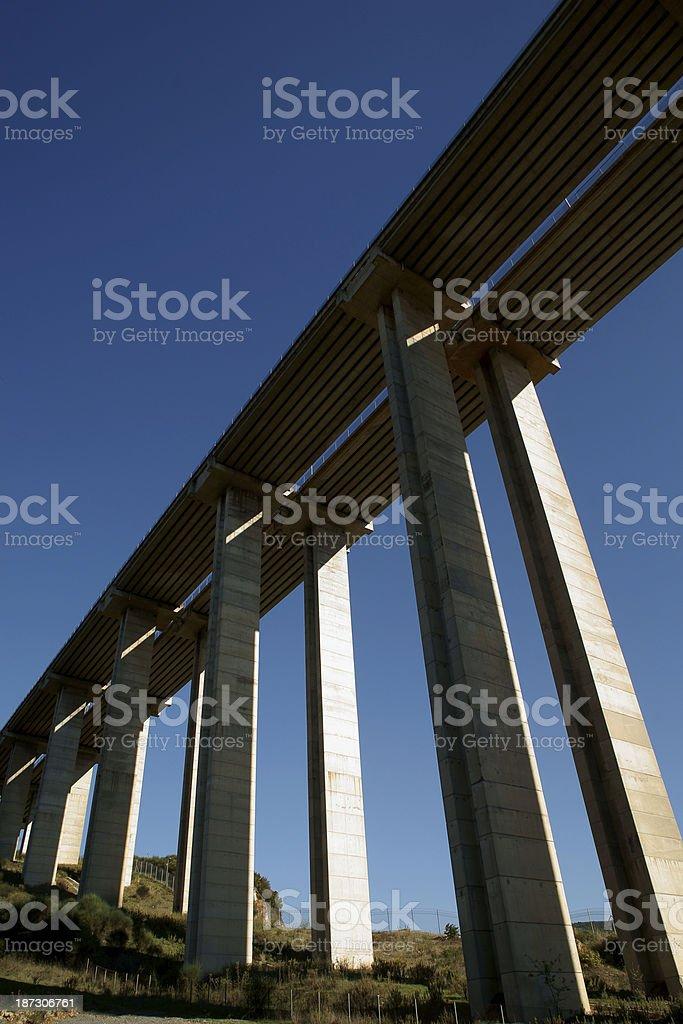highway viaduct bridge stock photo