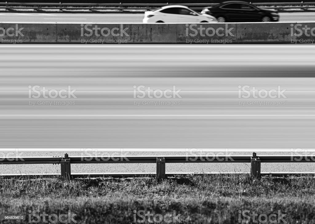 Highway with empty line city transportation background royalty-free stock photo