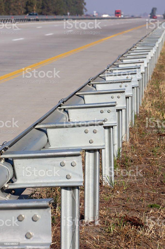 Highway,Railing royalty-free stock photo