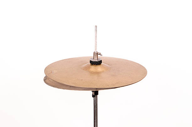 hi-hat cymbal hi-hat cymbal cymbal stock pictures, royalty-free photos & images