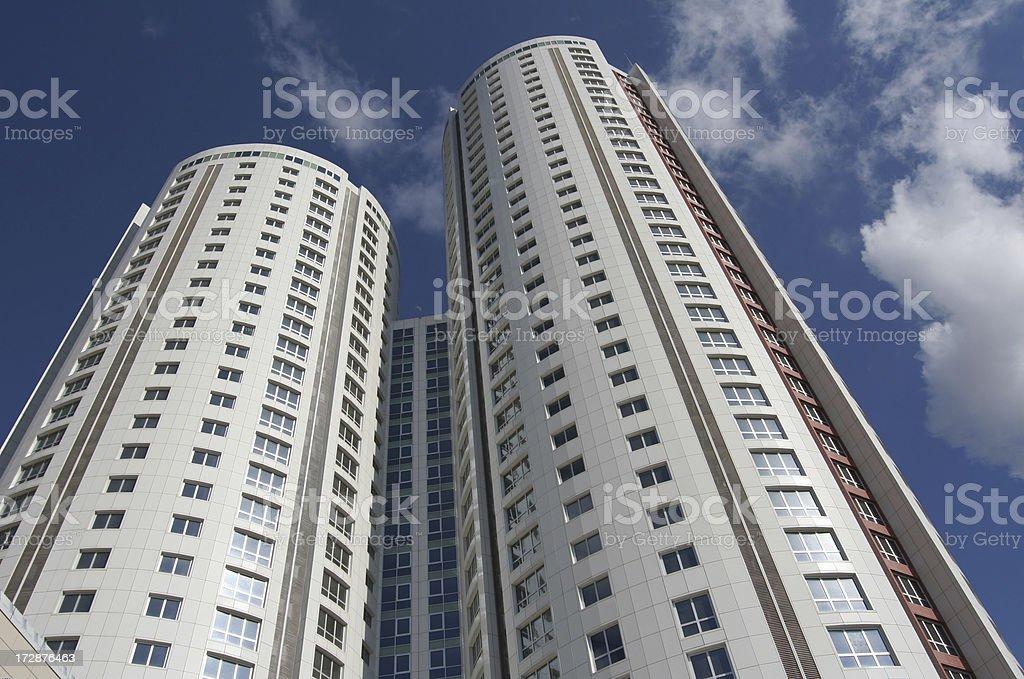Hihg apartments royalty-free stock photo