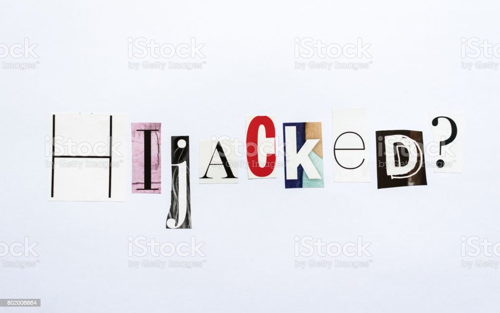 Hijacked question - note stock photo