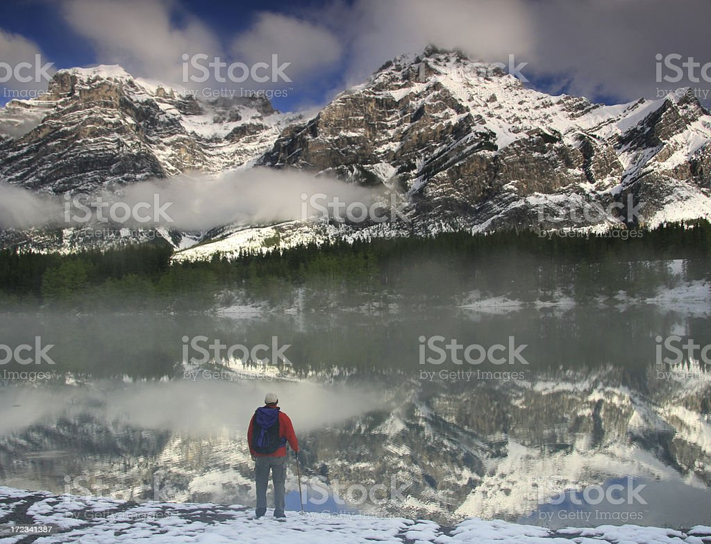 Hiker 5 royalty-free stock photo